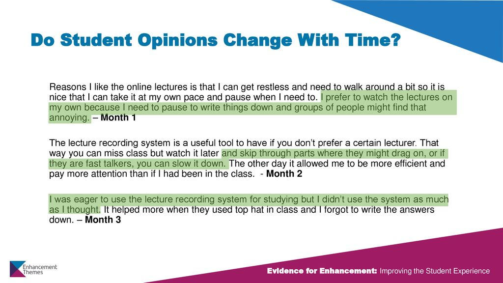 Should More Students Be Allowed To Skip >> Did I Miss That Student Experiences With Recorded Lectures Ppt