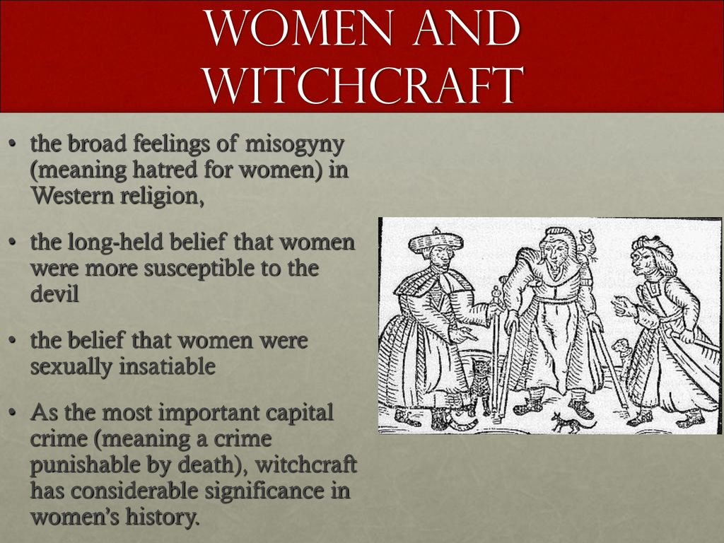 A Witch Hunt Simulation: Germany ppt download