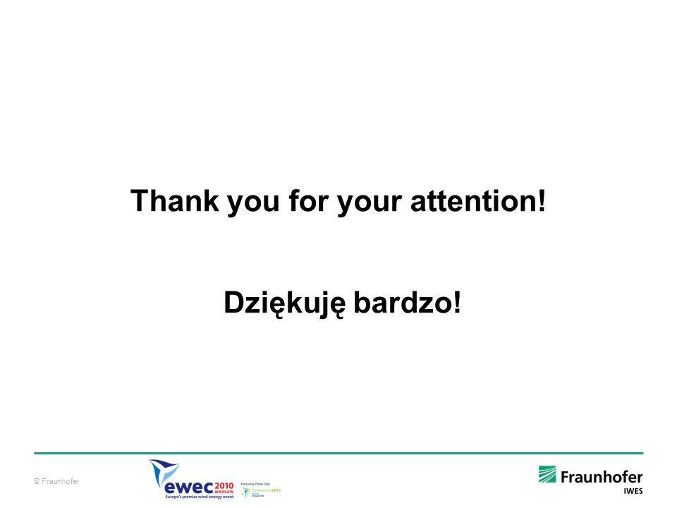 Thank you for your attention! Dziękuję bardzo!
