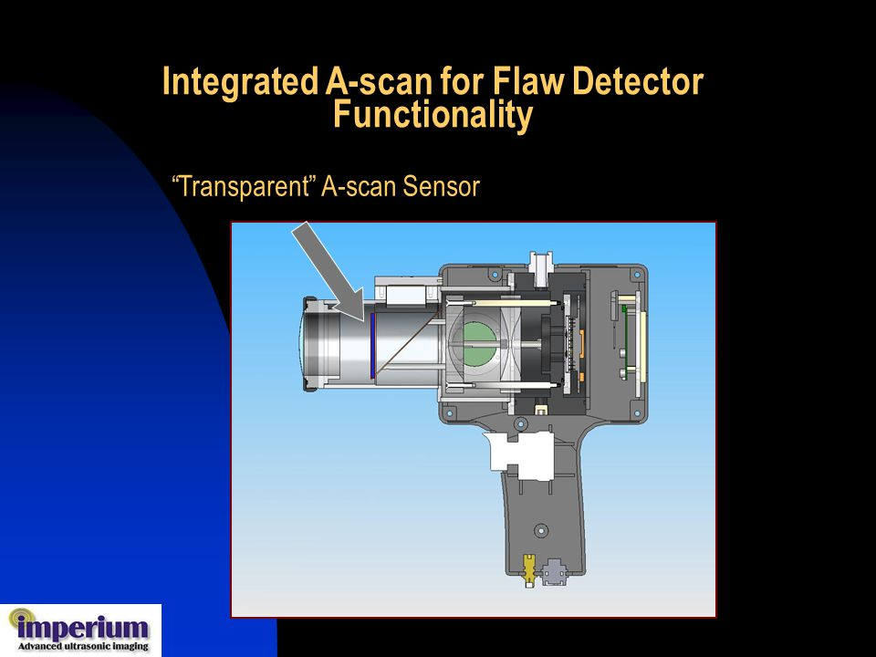 Integrated A-scan for Flaw Detector Functionality