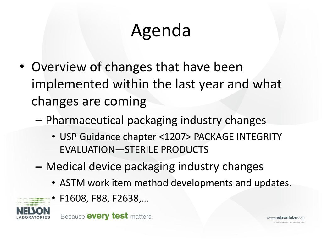 Present and Future Changes to the Packaging Industry - ppt