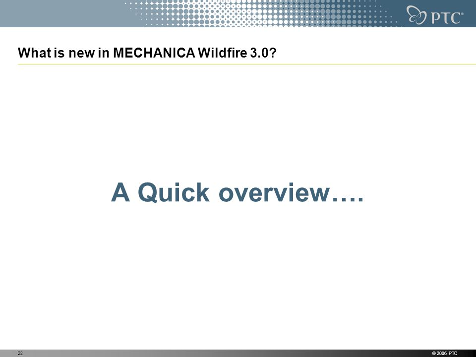 What is new in MECHANICA Wildfire 3.0