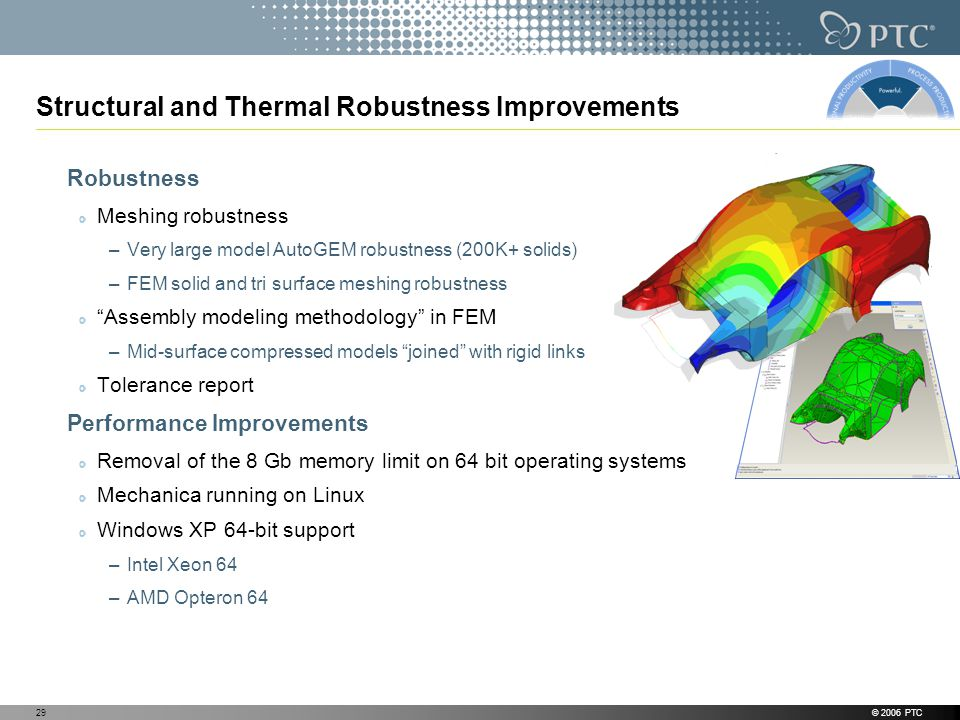 Structural and Thermal Robustness Improvements