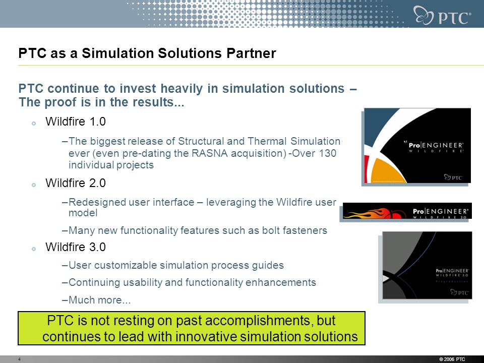 PTC as a Simulation Solutions Partner