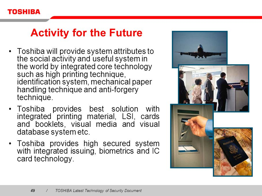 Activity for the Future