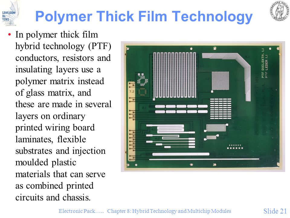 Polymer Thick Film Technology