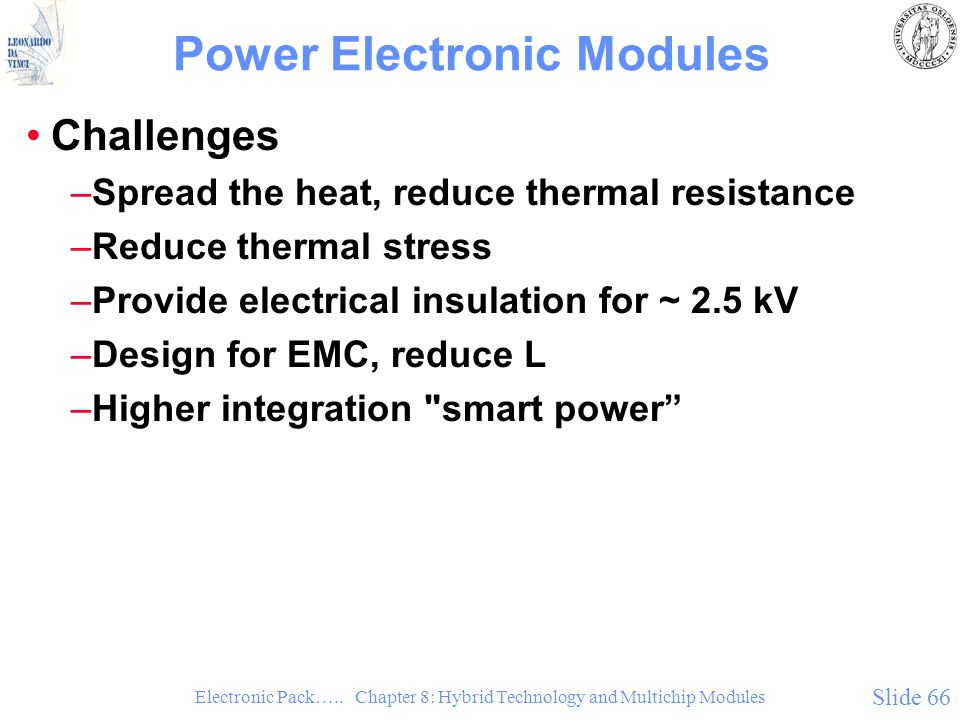 Power Electronic Modules