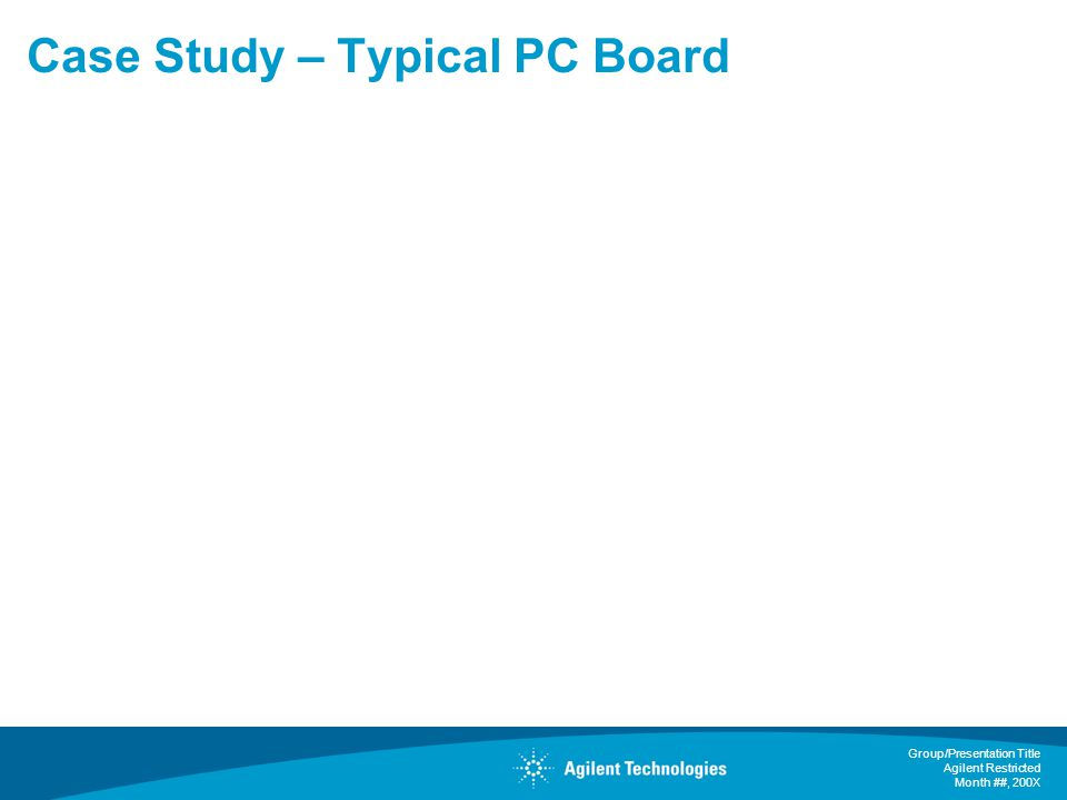 Case Study – Typical PC Board