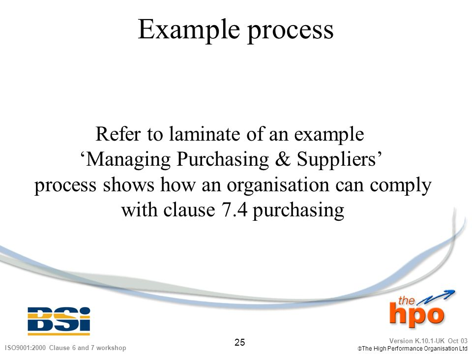Example process Refer to laminate of an example