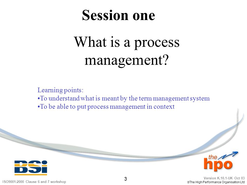 What is a process management