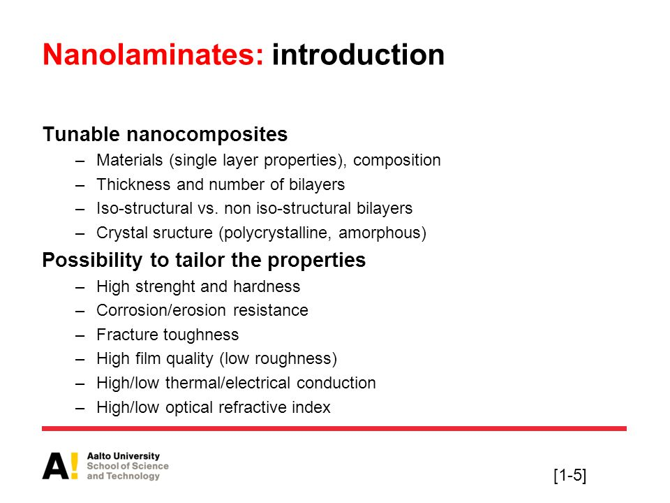 Nanolaminates: introduction