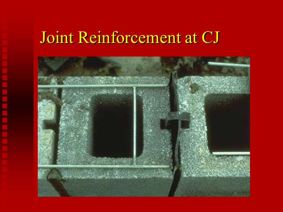 Joint Reinforcement at CJ