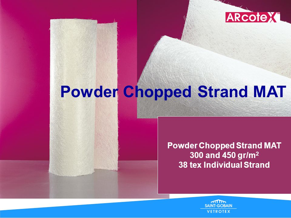 Powder Chopped Strand MAT
