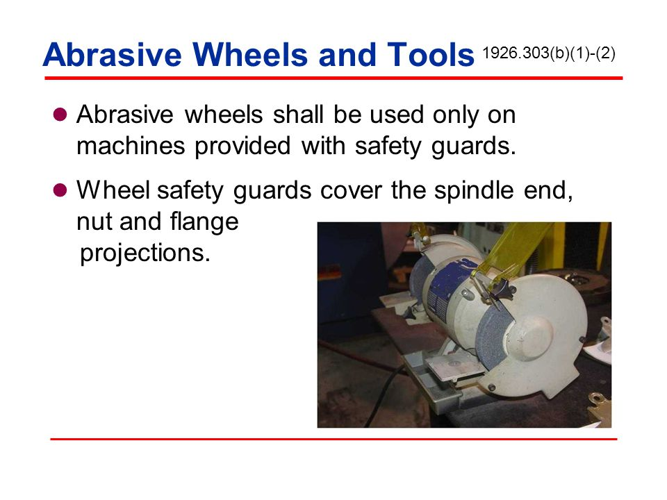 Abrasive Wheels and Tools
