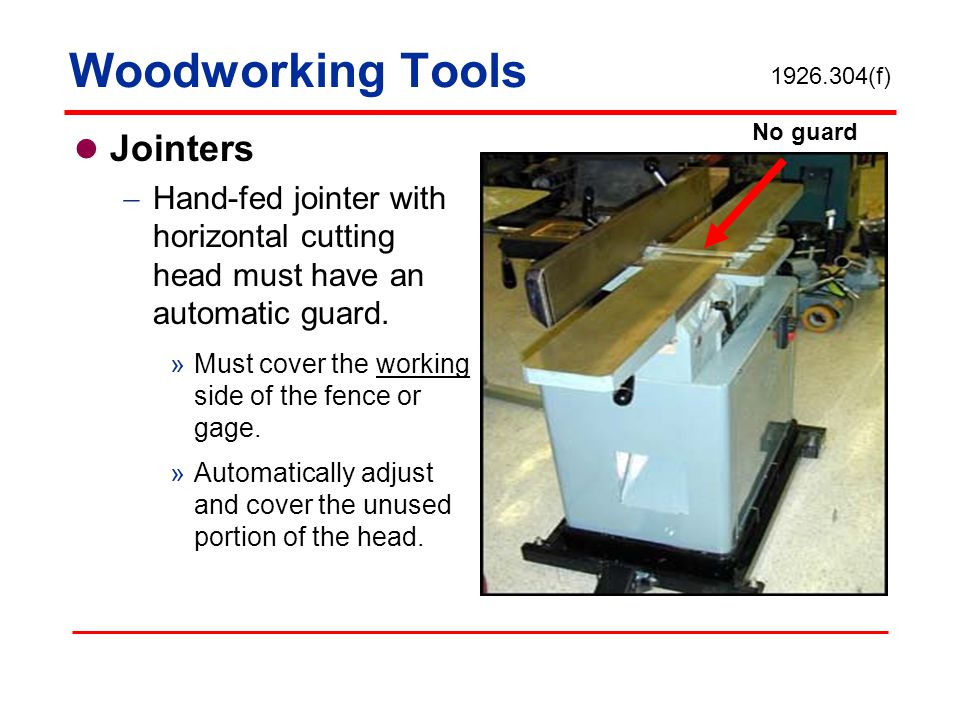 Woodworking Tools Jointers