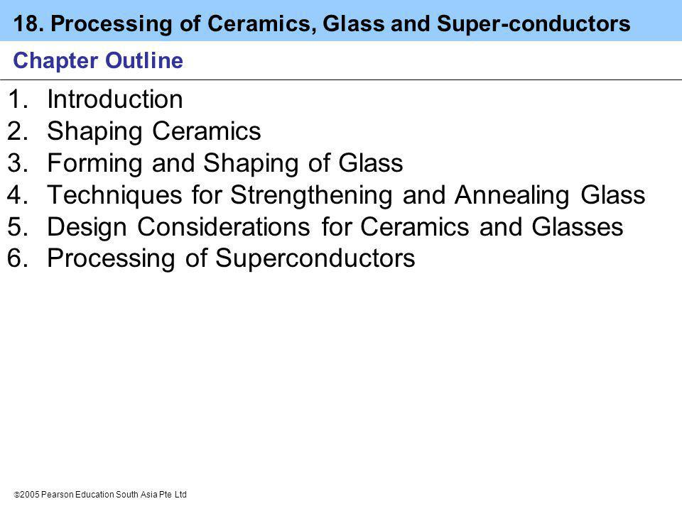 Forming and Shaping of Glass