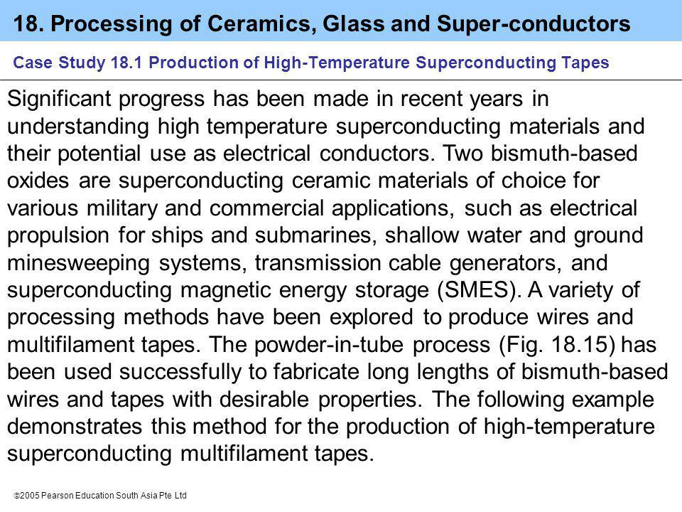 Case Study 18.1 Production of High-Temperature Superconducting Tapes