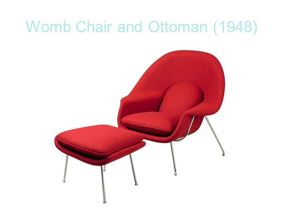 Womb Chair and Ottoman (1948)