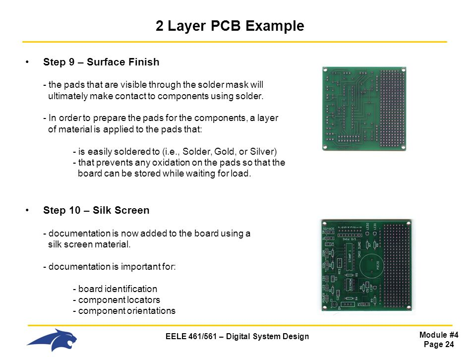2 Layer PCB Example