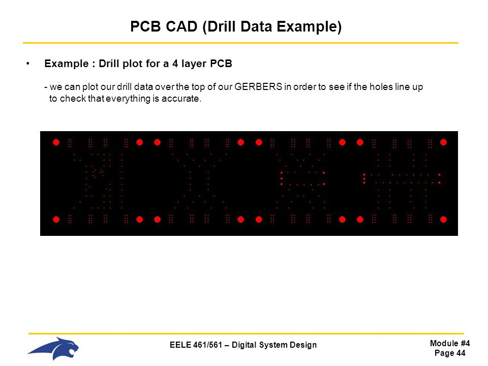 PCB CAD (Drill Data Example)
