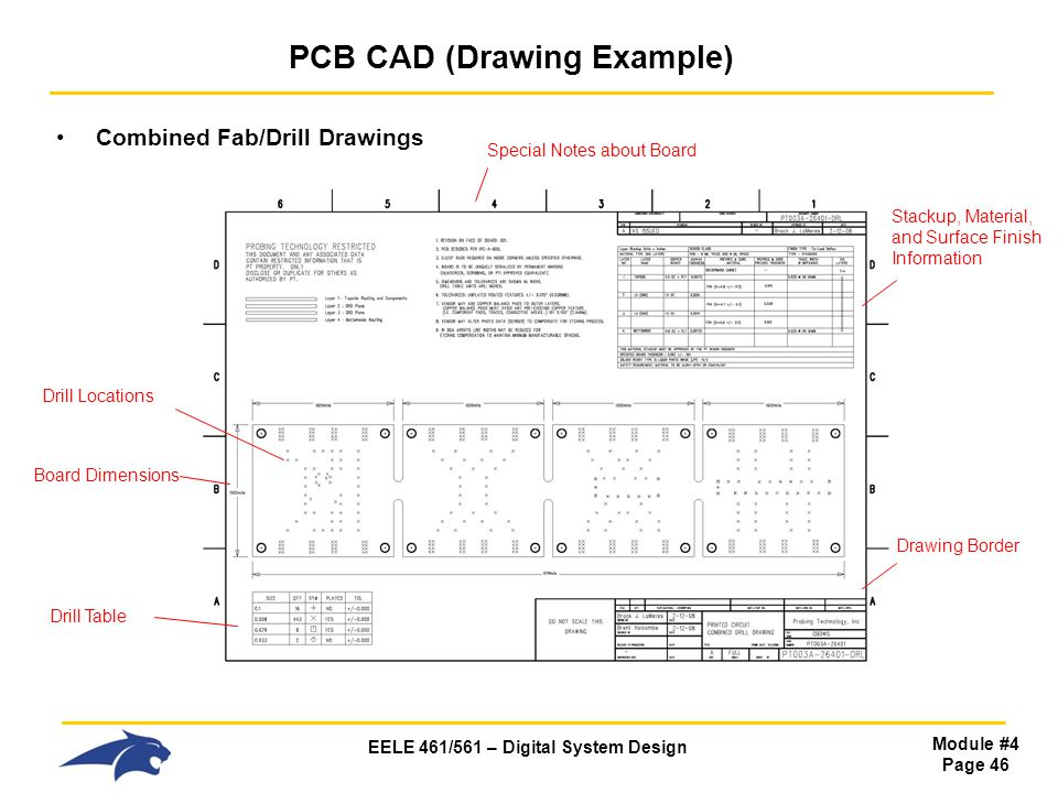 PCB CAD (Drawing Example)