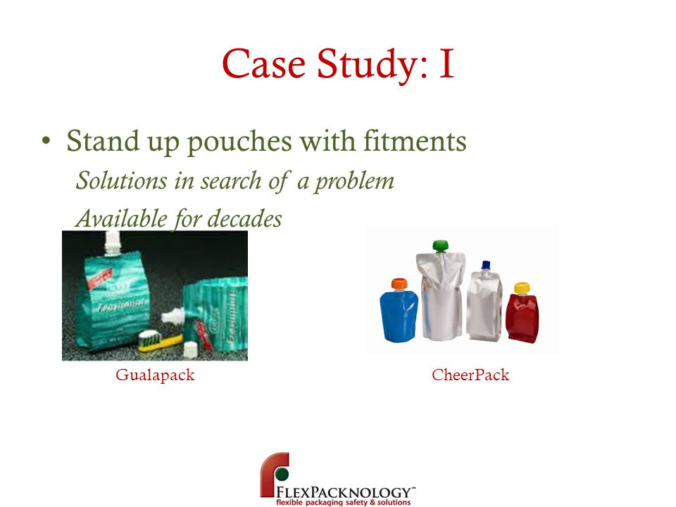 Case Study: I Stand up pouches with fitments