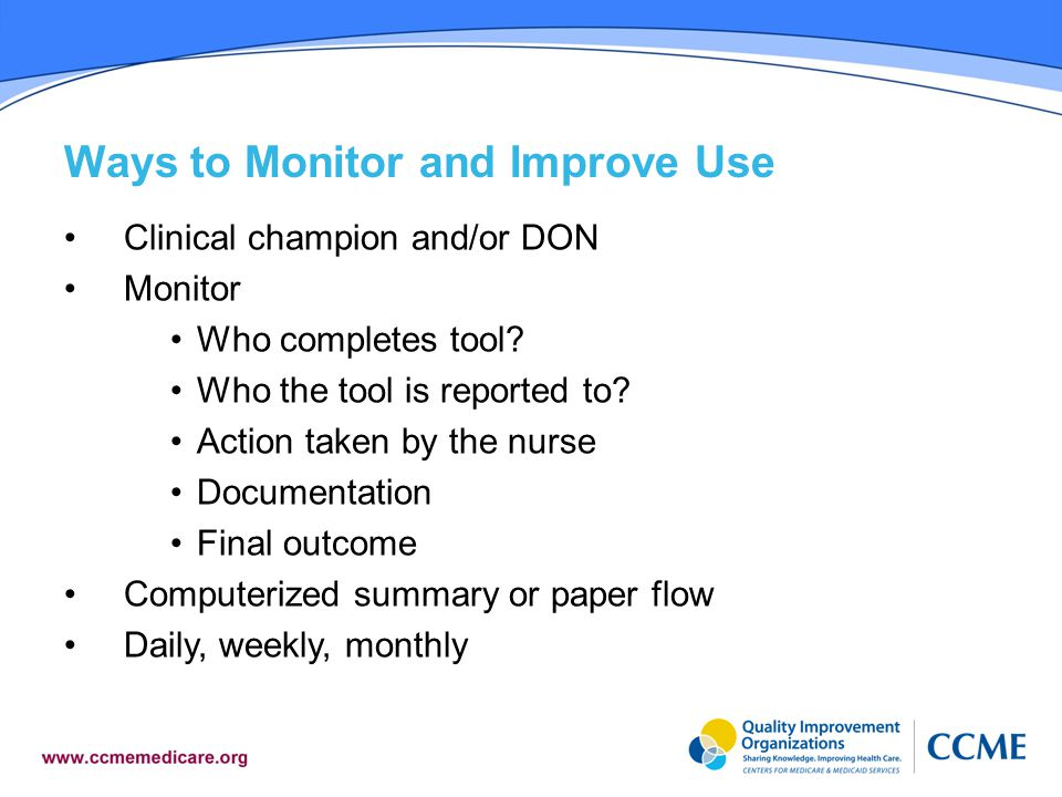 Ways to Monitor and Improve Use
