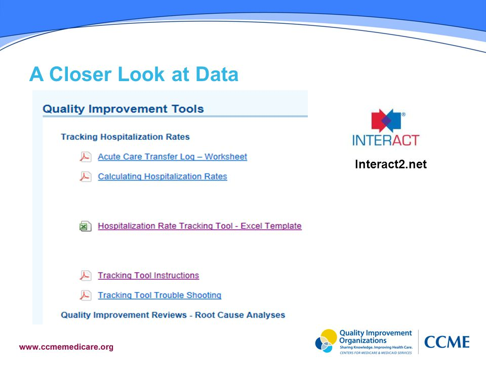 A Closer Look at Data Interact2.net
