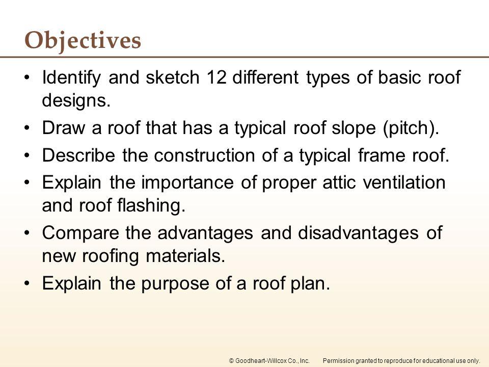 Chapter 16 Roof Designs Chapter 16 Roof Designs Ppt