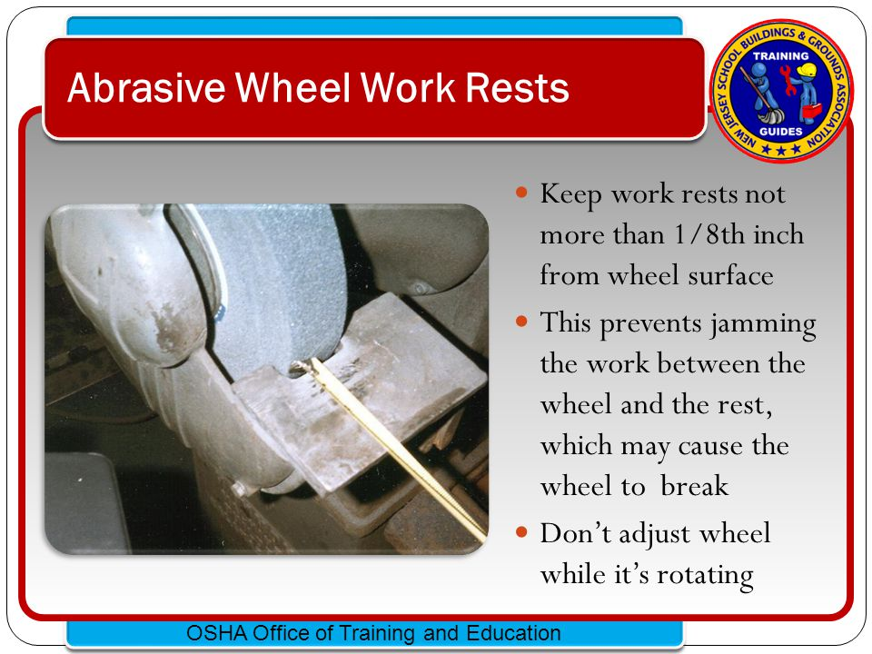 Abrasive Wheel Work Rests