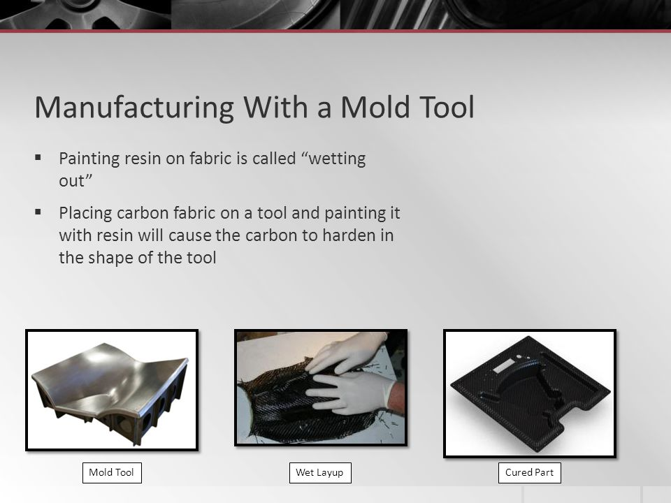 Manufacturing With a Mold Tool