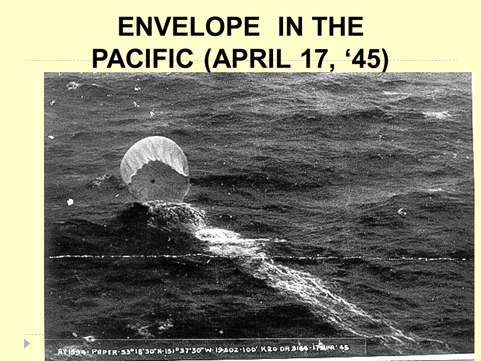 ENVELOPE IN THE PACIFIC (APRIL 17, '45)