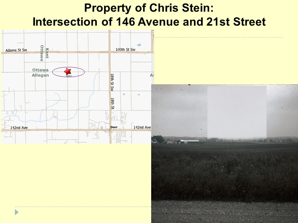 Property of Chris Stein: Intersection of 146 Avenue and 21st Street