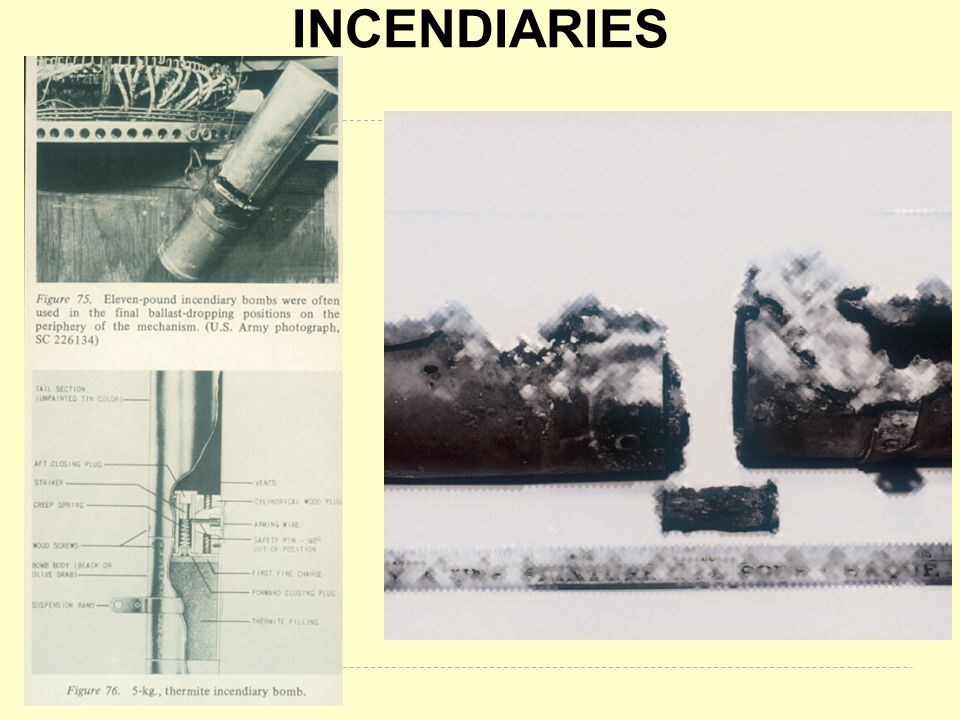 INCENDIARIES BB053 & BB 167