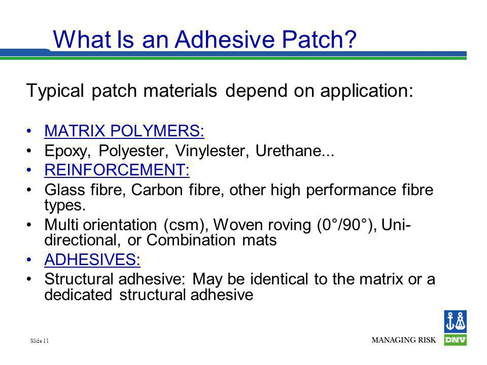 What Is an Adhesive Patch