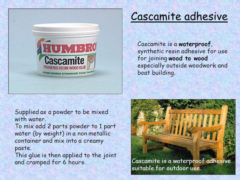 Cascamite adhesive