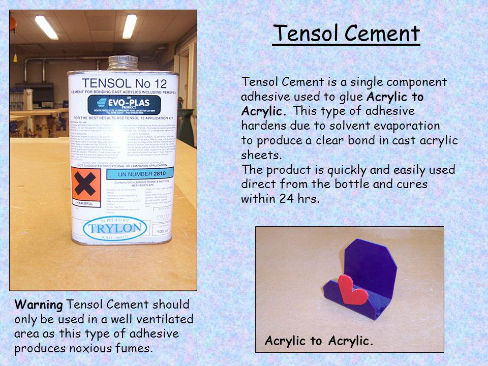 Tensol Cement