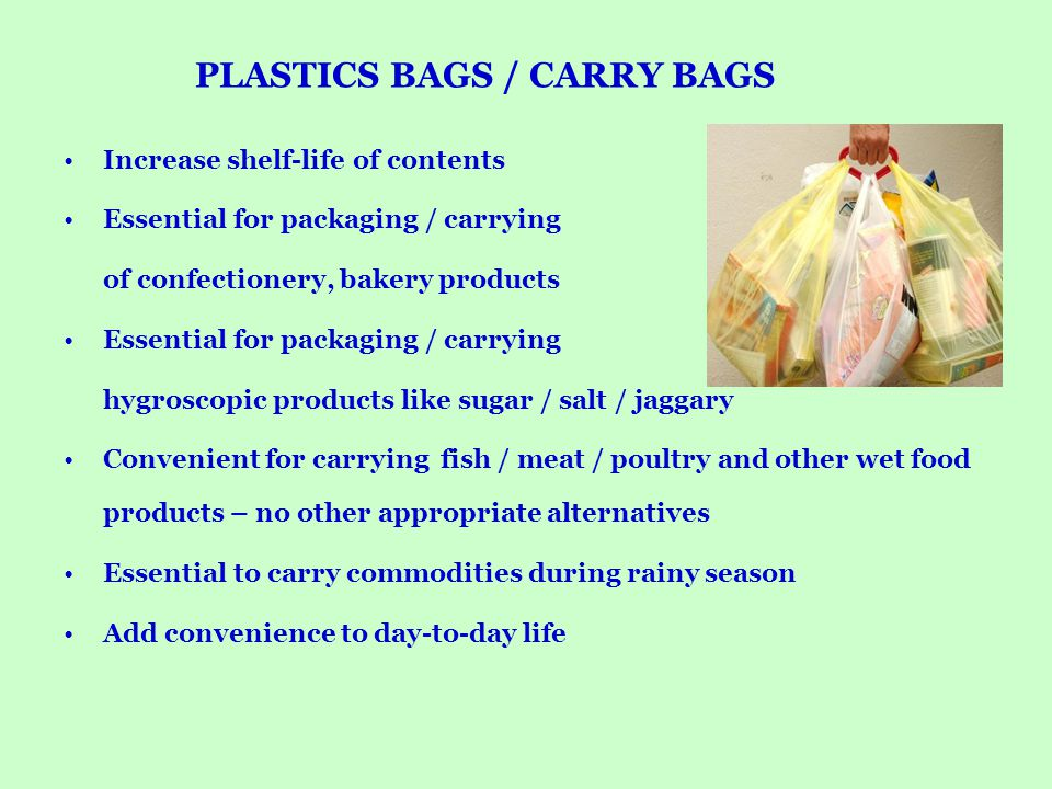 PLASTICS BAGS / CARRY BAGS