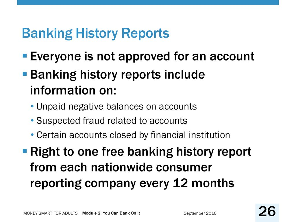 Module 2: You Can Bank On It - ppt download