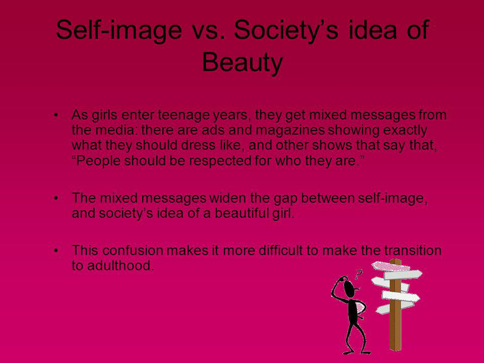 Self-image vs. Society's idea of Beauty