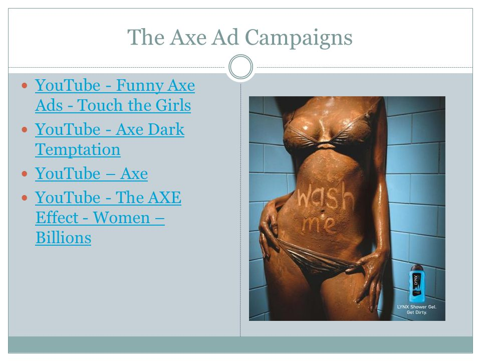 The Axe Ad Campaigns YouTube - Funny Axe Ads - Touch the Girls