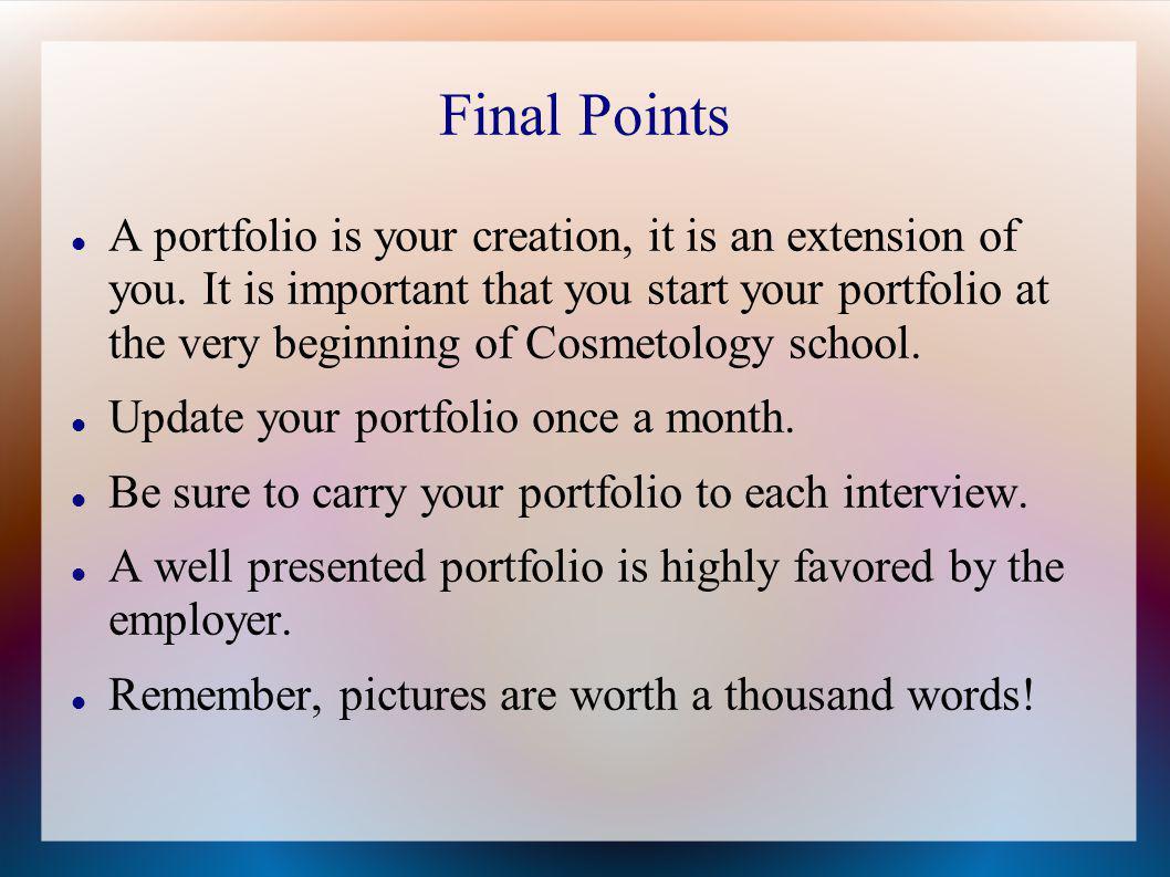 how to create your cosmetology portfolio