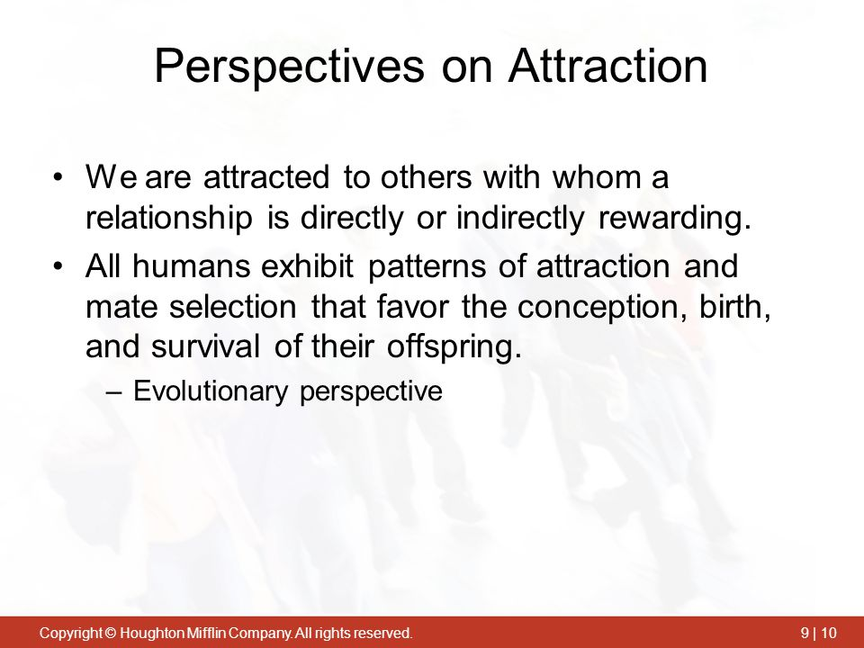 Perspectives on Attraction