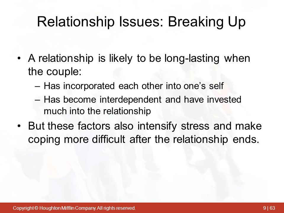 Relationship Issues: Breaking Up