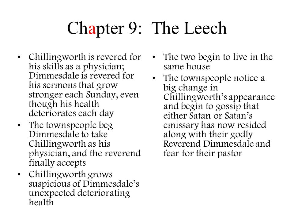 Chapter 9: The Leech