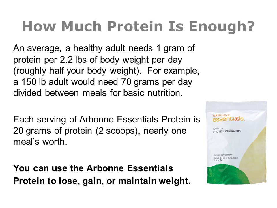How Much Protein Is Enough