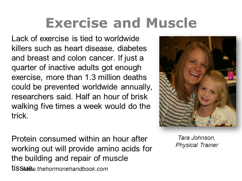 Exercise and Muscle