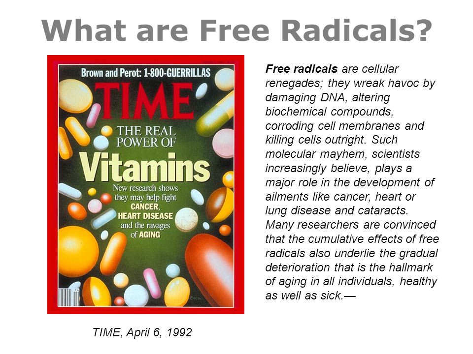 What are Free Radicals