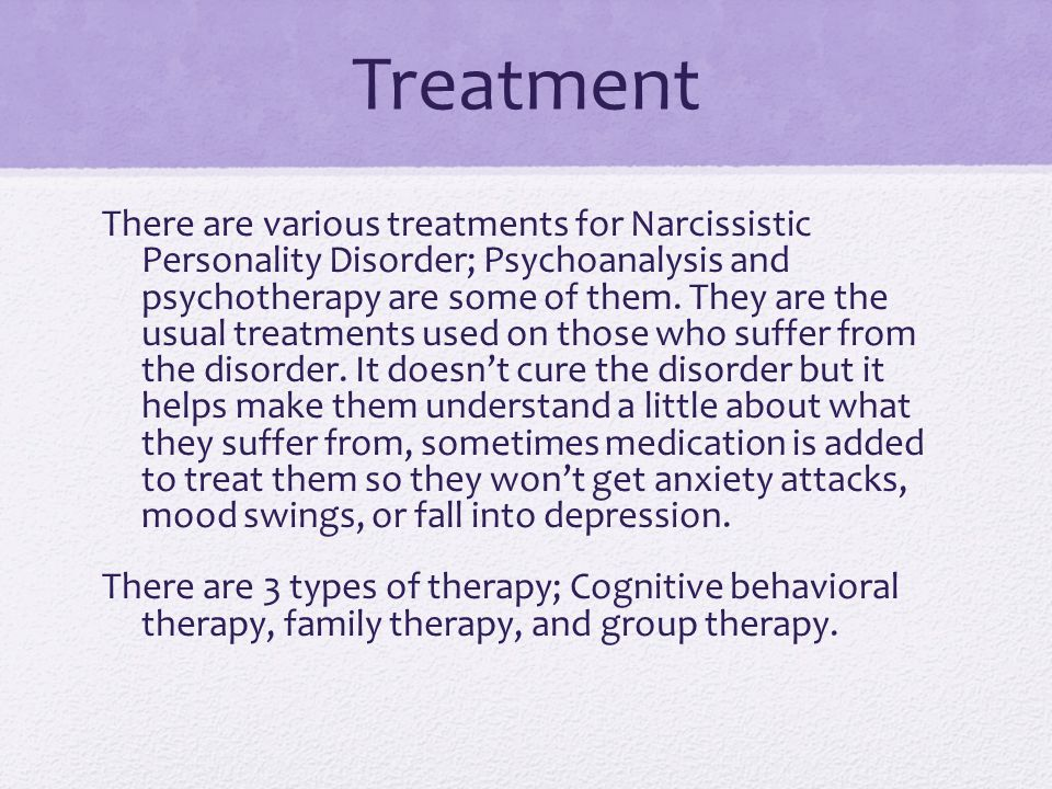 Narcissistic personality disorder - ppt video online download