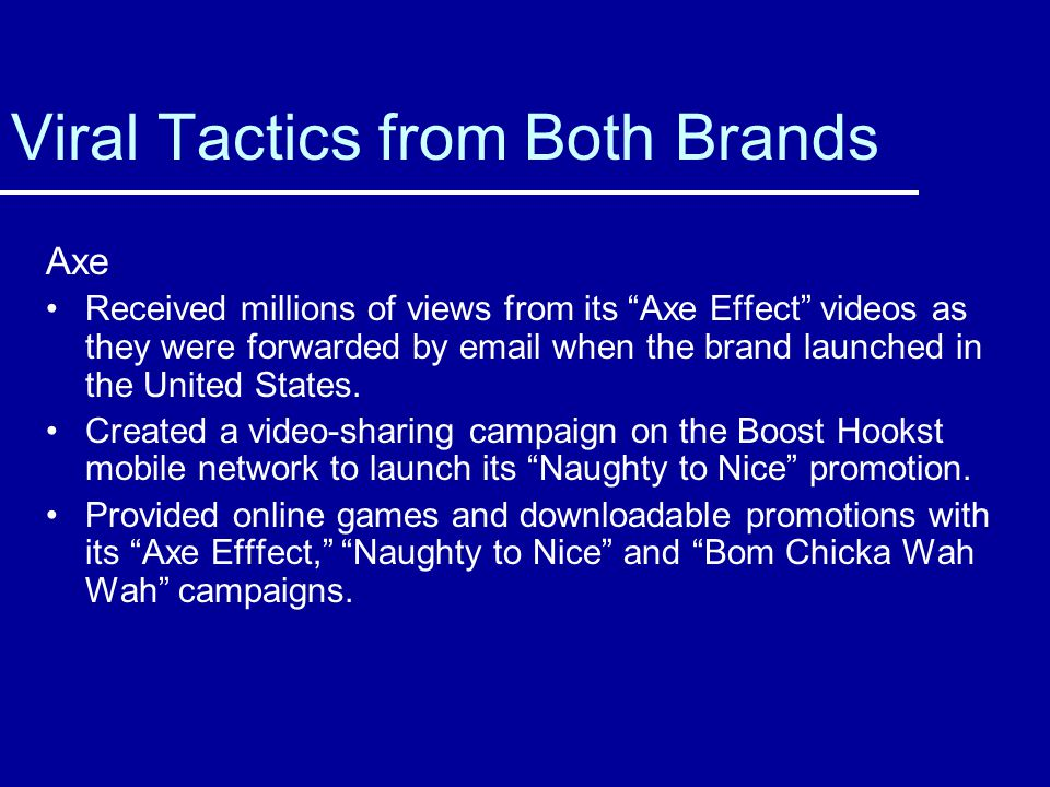 Viral Tactics from Both Brands
